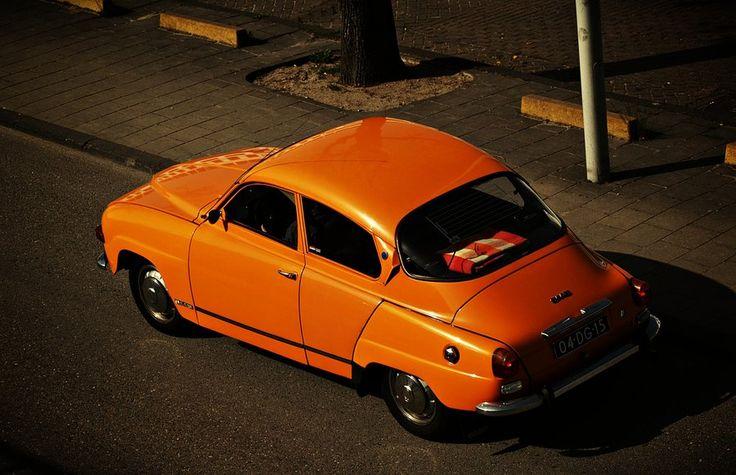 Saab oldtimer by Csipesz.deviantart.com on @deviantART