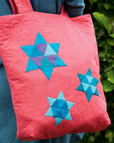 Sy selv: Taske med stjerner