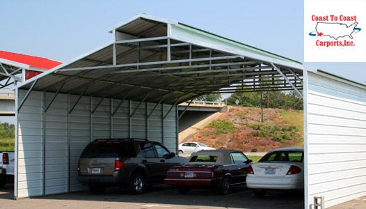 View All Solid Built Custom Metal Carports for Sale