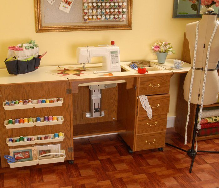 Unique Quilting Tables and Cabinets