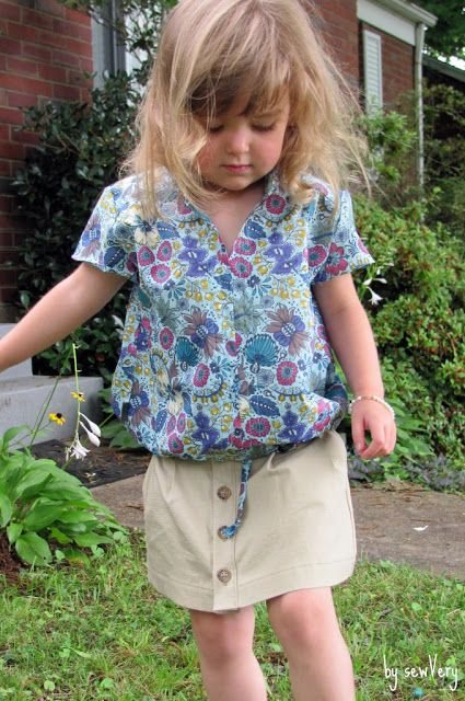 sewVery: Figgy Ayashe Blouse & Skirt Pattern Review