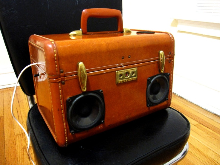 24 best Suitcase Stereo images on Pinterest | Boombox, Vintage ...