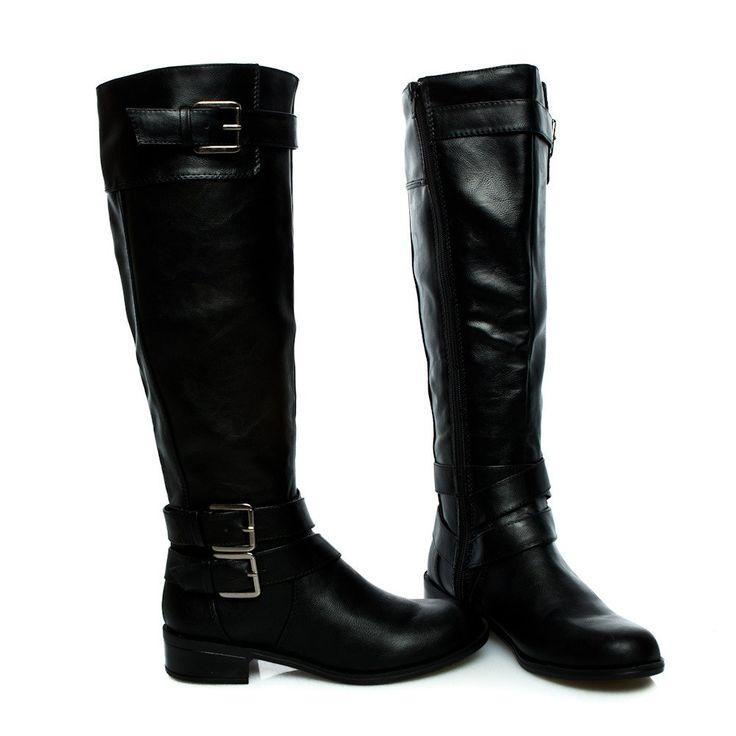 doric-black-knee high-rider boots