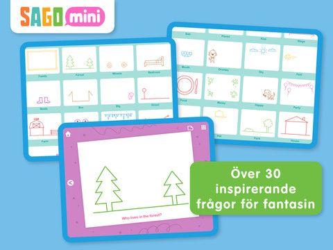 Nytt och förbättrat! Sago Mini Doodlecast är en unik app för att rita med som spelar in din röst medan du ritar. Få med varenda streck, ord och fniss. Perfekt för barn mellan 2 och 6 år. Spela upp dina teckningar och dela dem med vänner och familj. Personligen anser jag att appen fungerar lika bra i åk 1, som start till ASL / WtR.