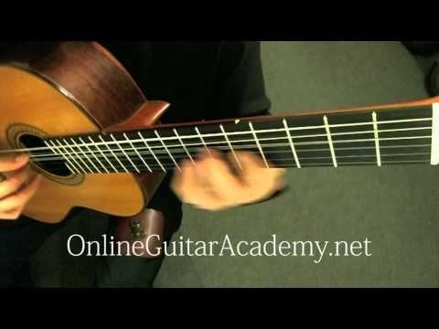 Mozart's Rondo Alla Turca, arranged for classical guitar by Emre Sabuncuoglu.