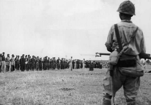 What was the Bataan Death March in World War II?
