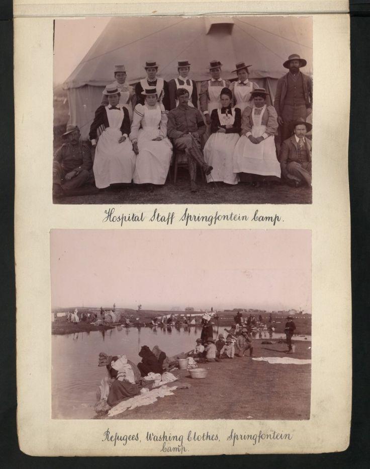 Hospital Staff Springfontein Camp.