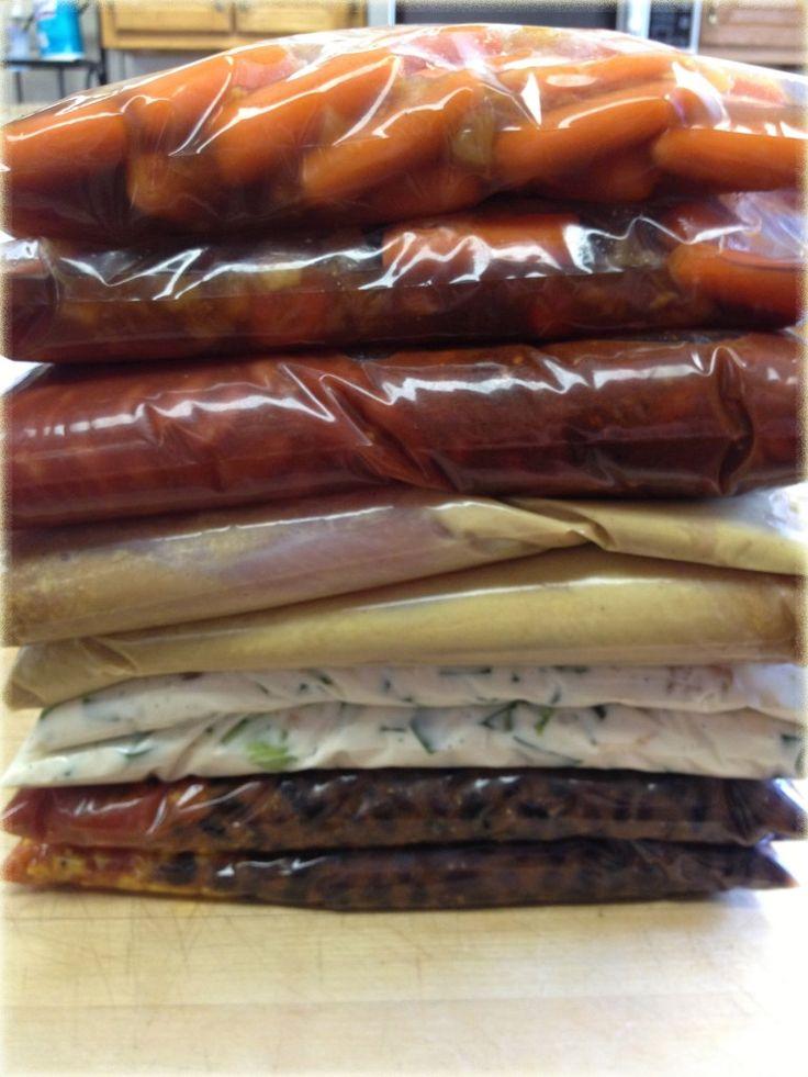 8 Easy Crock Pot Freezer Meals - Make Dinnertime Easy - Mommy's Fabulous Finds