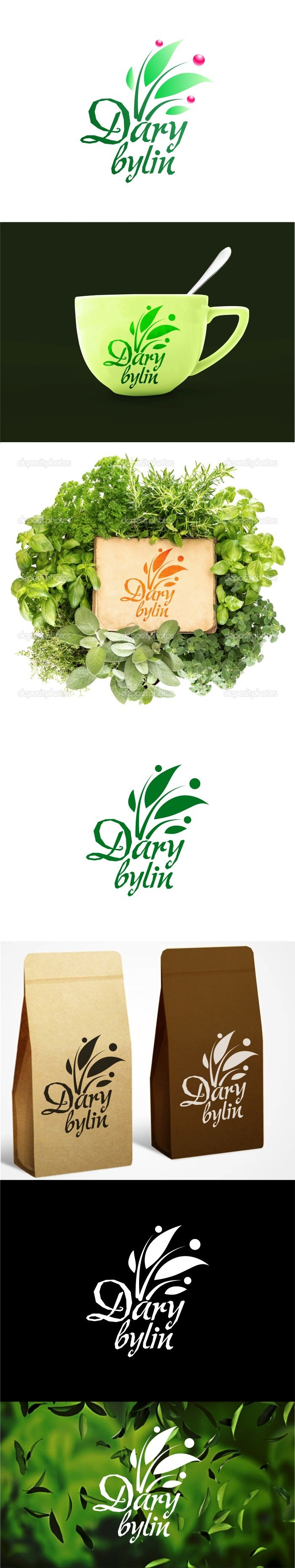 """Podívejte se na můj projekt @Behance: """"Dary bylin / """"Donations from herbs"""" logo"""" https://www.behance.net/gallery/43314805/Dary-bylin-Donations-from-herbs-logo."""
