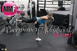 Fit Pregnancy Workout For Thighs. No need for the #THIGHS & #BUTT to expand during #PREGNANCY. This is an awesome THIGH #WORKOUT.