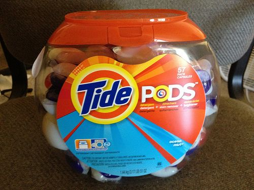 Giveaway and Review of Tide Pods