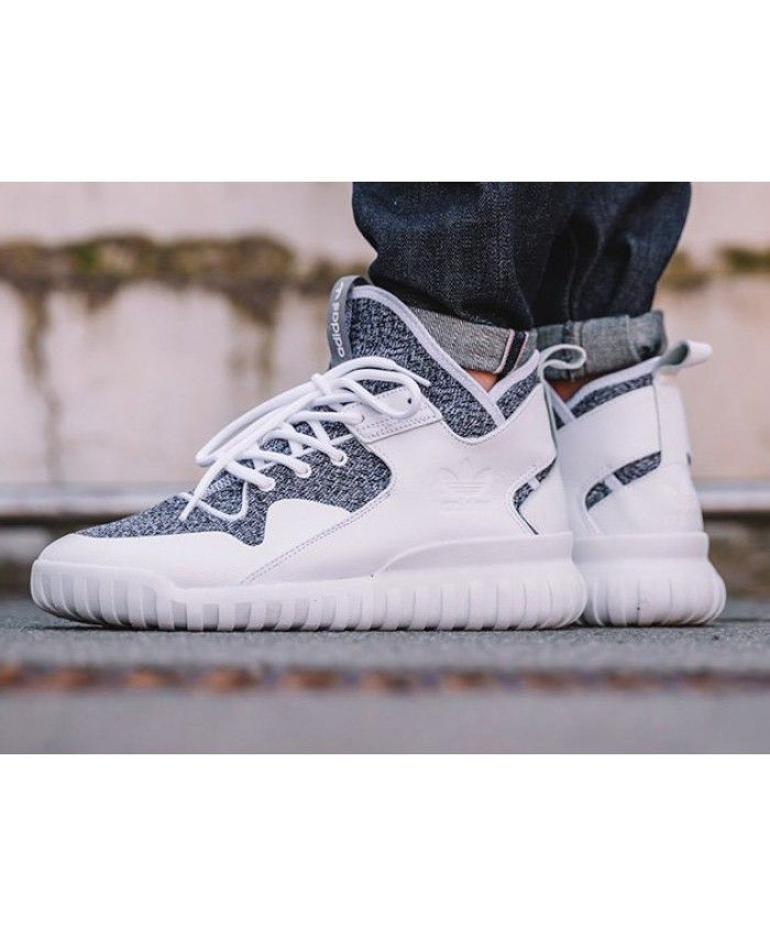 purchase cheap 095e2 c5928 Adidas Tubular X Running White Grey Trainers | adidas ...