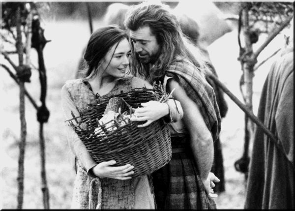 William Wallace and Murron. True love. :)