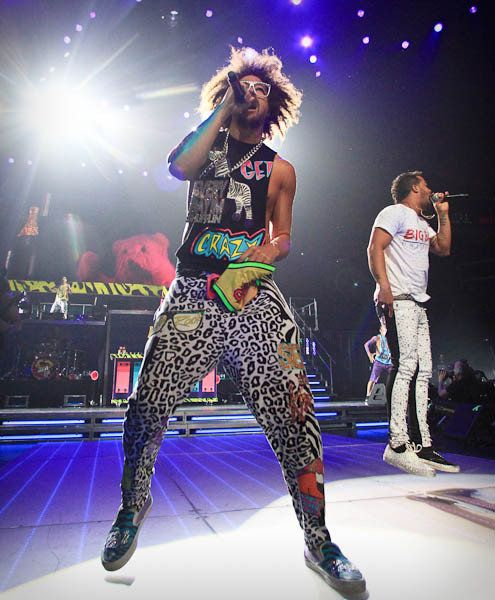 LMFAO Performs in Concert at Amway Center
