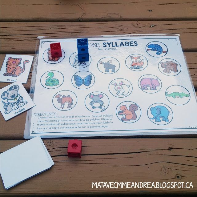 Do you practice dividing words into syllables and putting them back together with your students? How about figuring out how many syllables a...