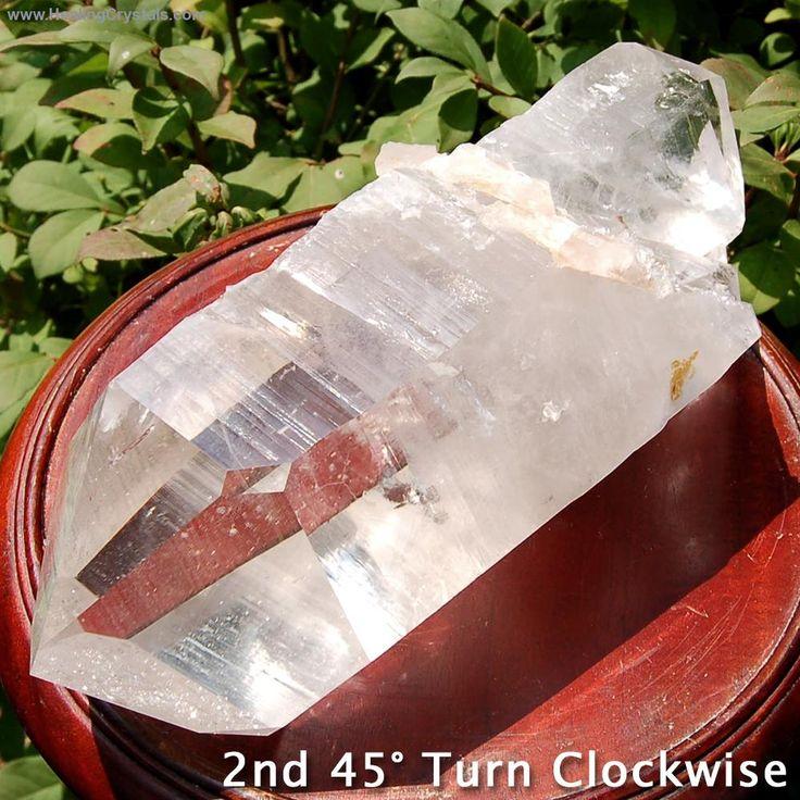 Specimen - Clear Quartz DT Specimen Point #2 (Arkansas)- Code HCPIN10 provides you with 10% off