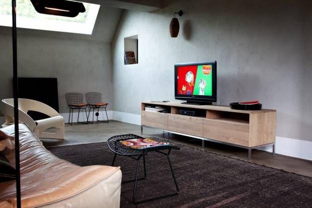 Размещение тумбы под телевизор (80 фото)