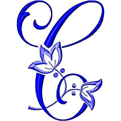 Alfabeto de bordados gratis - Imagui
