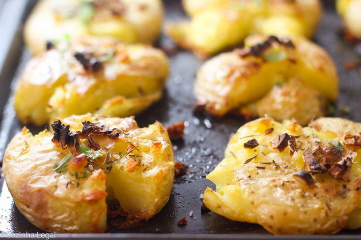 Batata assadas com alho | Cozinha Legal