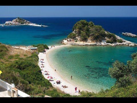 35 Magic Beaches of Samos Island, Greece - 11 min. - YouTube
