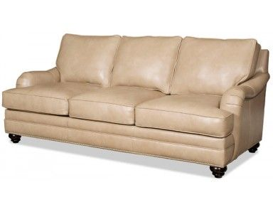Bradington Young Derring Leather Sofa. Custom Made In The USA! : Leather  Furniture Expo