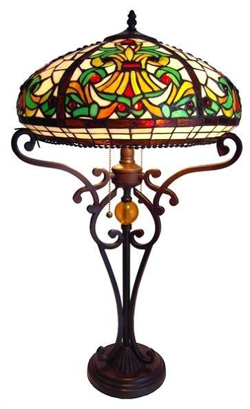 domed victorian tiffany table lamp - Tiffany Table Lamps