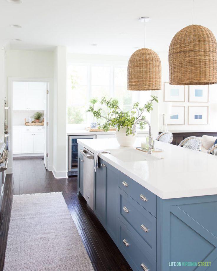 Coastal Kitchen Reveal Interior Design Kitchen Kitchen Interior