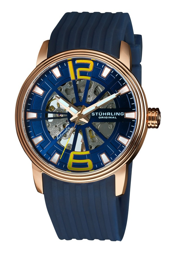 Stuhrling Original 1078.3346C6, Created in a blend of fashion and class, this Stuhrling timepiece exhibits a bold style that adds flare to your collection.