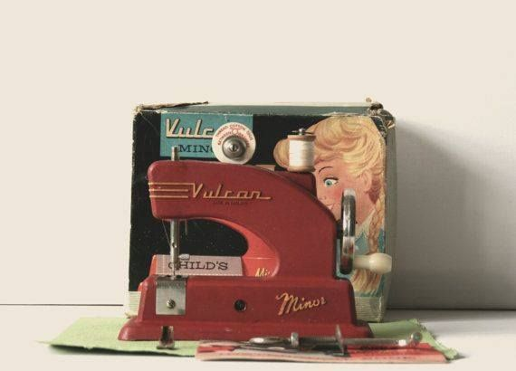 Girls Vulcan Sewing Machine, New Zealand
