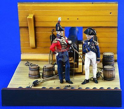 Soldiers Figures 16511: Verlinden 54Mm 1 32 Horatio Lord Nelson And Royal Marines Officer (2 Figures) 1904 -> BUY IT NOW ONLY: $32.95 on eBay!