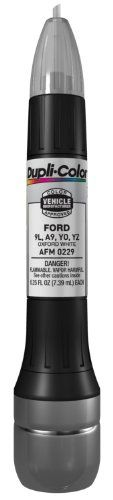 Dupli-Color AFM0229 Oxford White Ford Exact-Match Scratch Fix All-in-1 Touch-Up Paint - 0.5 oz. - http://www.caraccessoriesonlinemarket.com/dupli-color-afm0229-oxford-white-ford-exact-match-scratch-fix-all-in-1-touch-up-paint-0-5-oz/  #AFM0229, #Allin1, #DupliColor, #ExactMatch, #Ford, #Oxford, #Paint, #Scratch, #TouchUp, #White #Enthusiast-Merchandise, #Ford