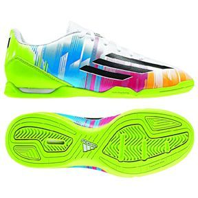 adidas Youth Lionel Messi F10 Indoor Soccer Shoes