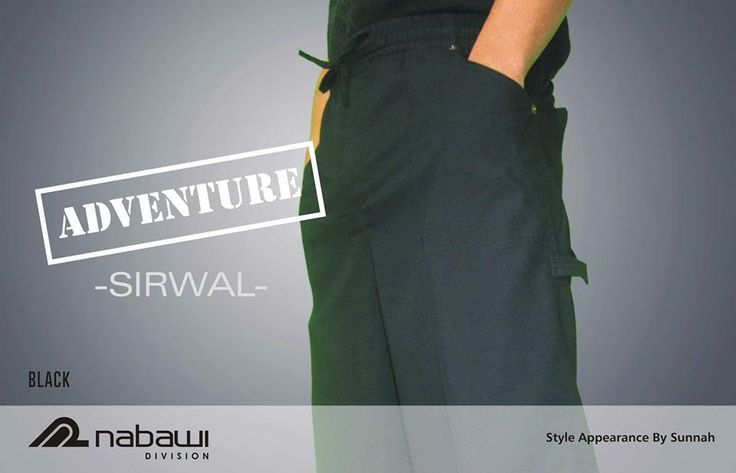 Adventure #Sirwal Black IDR.90,000