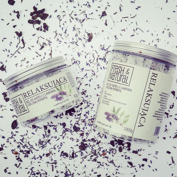 """Polubienia: 126, komentarze: 1 – Fresh&Natural (@fresh.and.natural) na Instagramie: """"Relaxing bath salt with lavender and green tea from @fresh.and.natural #lavender #bathsalts #salt…"""""""