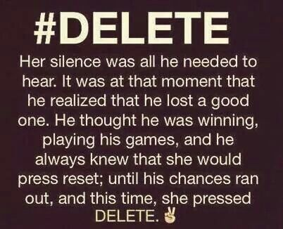 "leave them if they abused you, hurt you, manipulated you, hit you, LEAVE THEM and #DELETE Them from your world.   Go ""no contact"" and you will soon have a much happier better life."