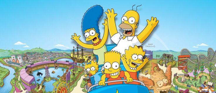 Universal Simpsons ride