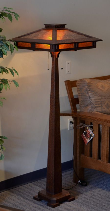 mission floor lamp - Google Search