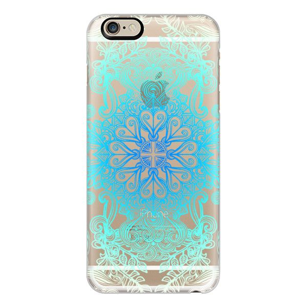 iPhone 6 Plus/6/5/5s/5c Case - Vintage Fancy Lace in Ocean Blues ($40) ❤ liked on Polyvore featuring accessories, tech accessories, phone cases, phone, electronics, technology, iphone case, apple iphone cases, iphone cover case e vintage iphone case