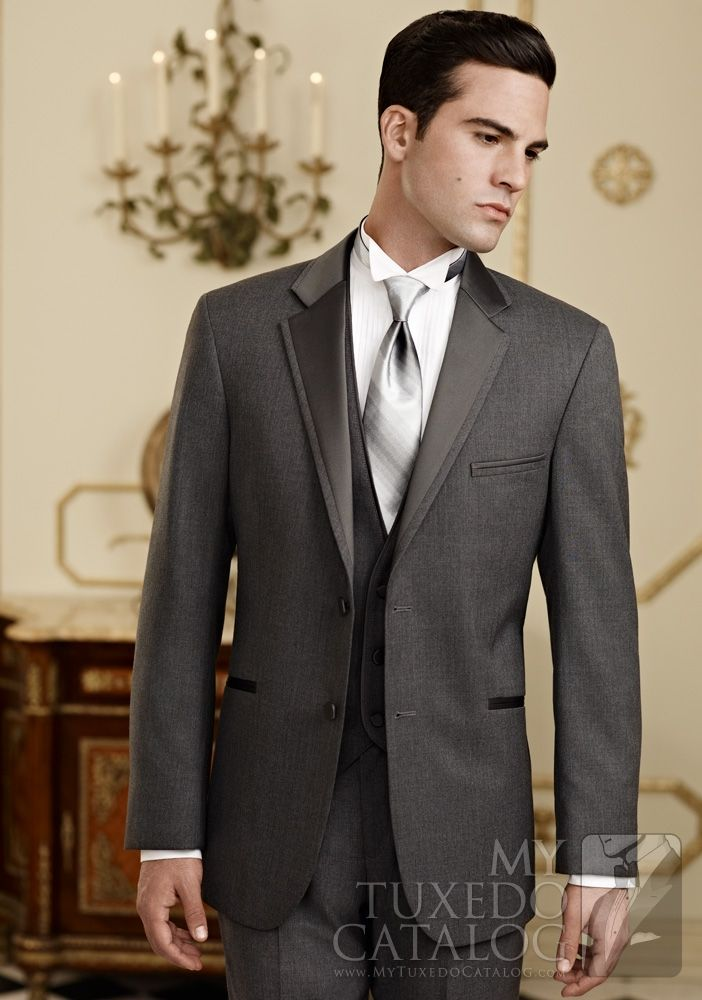 oh man...Groomsmen, Ideas, Grooms Suits, Grey Suits, Colors,  Suits Of Clothing, Ties, Grey Tuxedos, Steel Grey