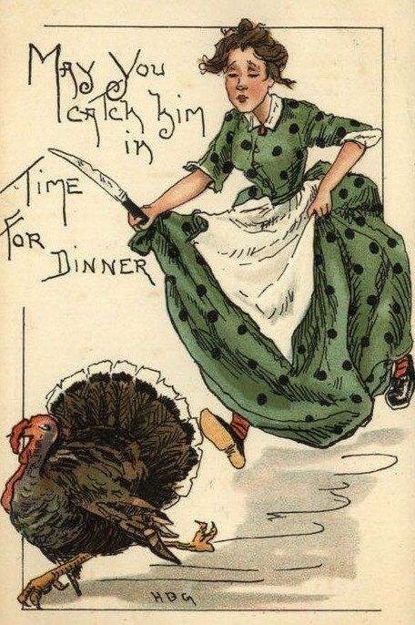 Vintage Thanksgiving Images | Public Domain | Condition Free