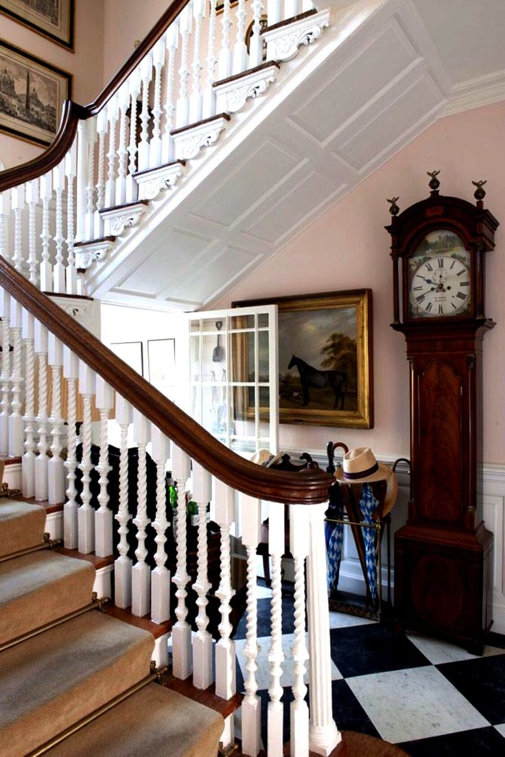 Beautiful Stairs 991 Best British Style Images On Pinterest  English Cottages