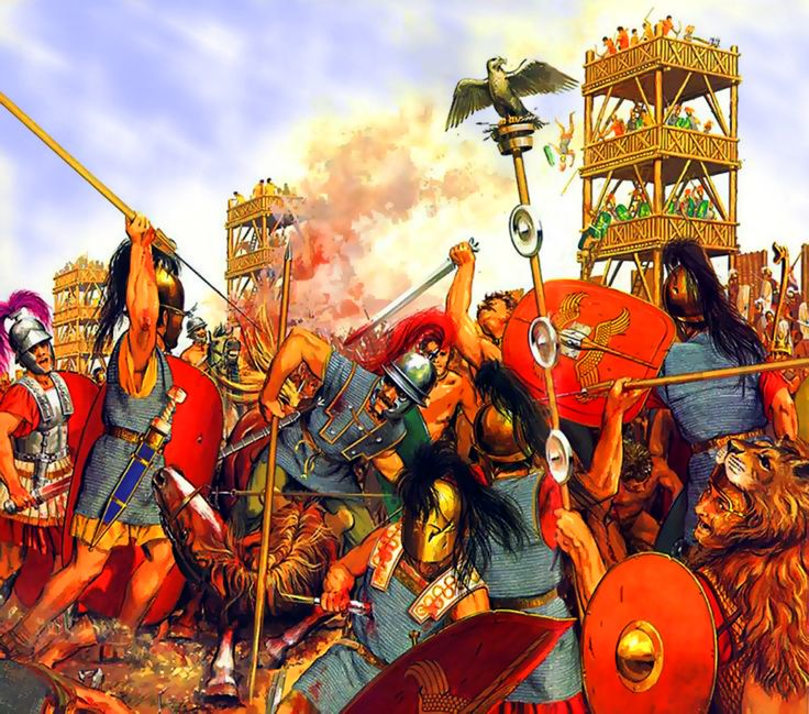 Battle of Alesia, Gallic War