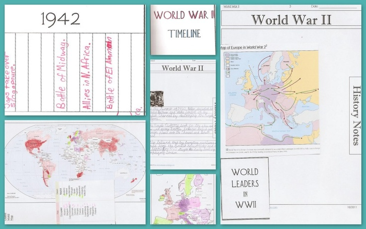 WWII homeschooling resources (from Practical Pages)