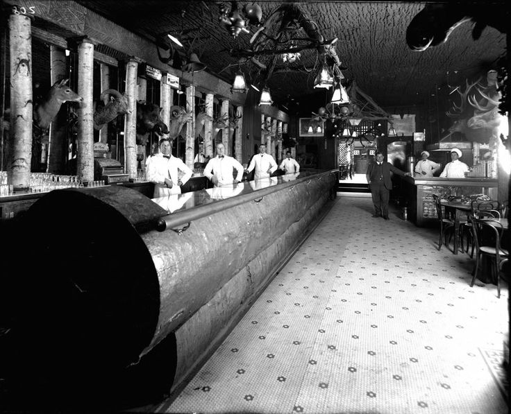 Historic Happy Hours: Century-Old Images of Detroit Bars - Bar City 2014 - Curbed Detroit