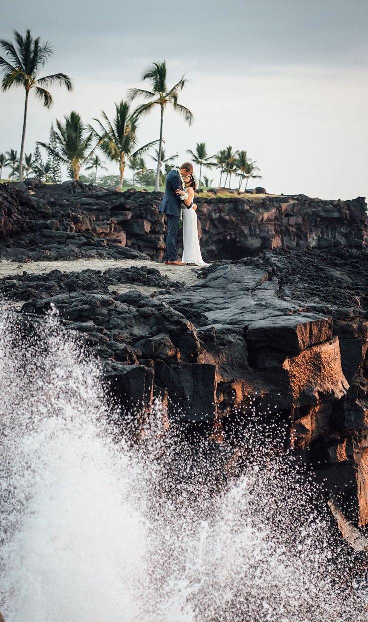 We found our dream destination wedding venue: Sheraton Kona Resort & Spa overloo…