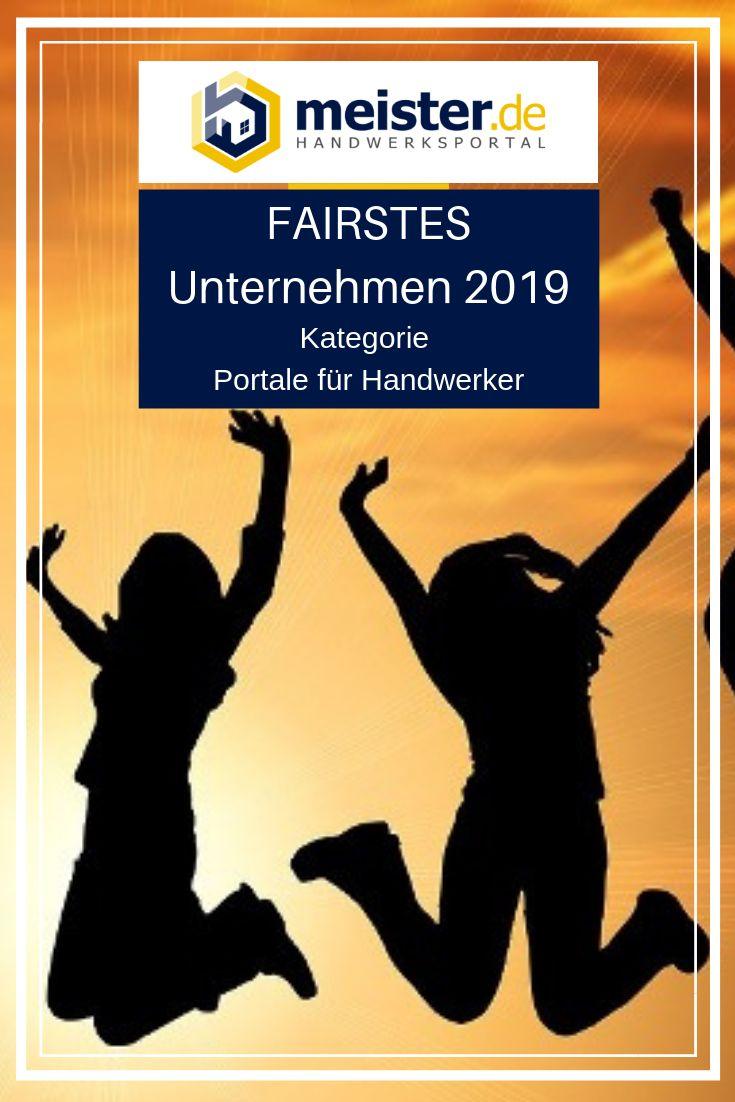meister.de erhält Auszeichnung FAIRSTES Unternehmen 2019 in der Kategorie Portale für Handwerker