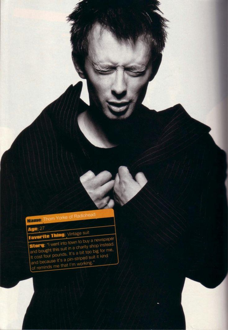 Thom Yorke - #Radiohead 1995