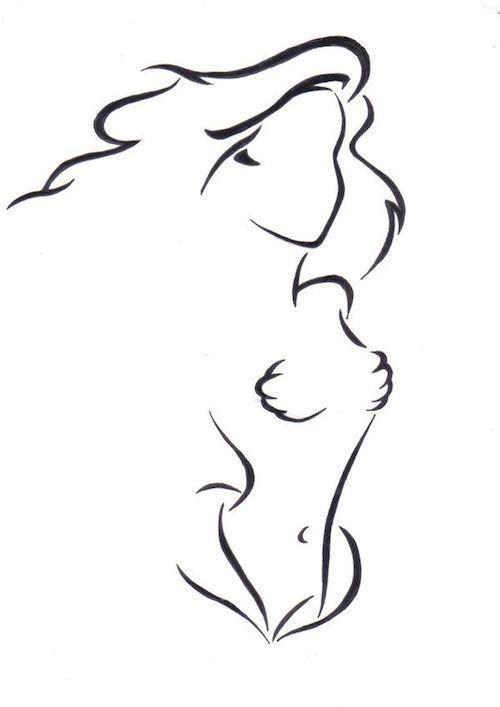 Tatouage disney ariel de la petite sirène / Disney tattoo inspirations from www.morganewho.com                                                                                                                                                                                 Plus