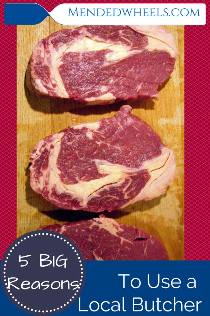 Local Butchers are a fantastic way to find better quality meat for a better price than most grocery stores!