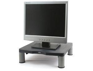 Soporte para monitor de PC con altura ajustable por 23,53€ en: http://www.asturalba.com/mobiliario/muebleordenador/mueblesdeordenador.htm